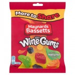 Maynards Bassetts Wine Gums 400g bag