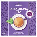 Morrisons Extra Strong Tea Bags 80 per pack