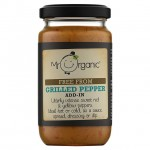 Mr Organic Grilled Peppers Add In Sauce 190g