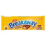 Nestle Breakaway Biscuits Milk Chocolate 8 Pack