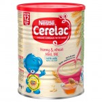 Nestle Cerelac Infant Cereal Honey and Wheat with Milk 12 Months 400G