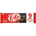 Nestle Kit Kat 2 Finger Bars Dark 9 Pack