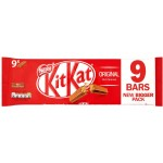 Nestle Kit Kat 2 Finger Milk Chocolate 9 Pack