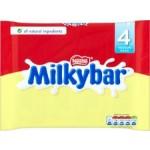 Nestle Milkybar White Chocolate 4x25g bars