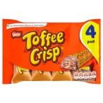 Nestle Toffee Crisp 4 Pack