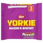 Nestle Yorkie Raisin And Biscuit 3 Pack