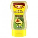 Old El Paso Squeezy Chunky Guacamole 240g