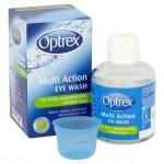 Optrex Multi Action Eye Wash 100ml Plus Eye Bath