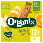 Organix 12 Month Goodies Organic Apple and Orange Cereal Bars 6 x 30g