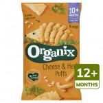 Organix 12 Month Goodies Organic Cheese and Herb Puffs 4x15g
