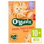 Organix Cereals Apple Peach and Banana Muesli - Stage 3 200g