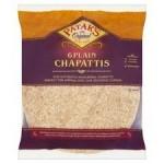 Pataks Plain Chapattis 6 Pack