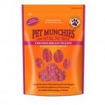 Pet Munchies 100% Natural Chicken Breast Fillets Dog Treats 100g