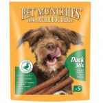 Pet Munchies 100% Natural Duck Stix 50g