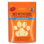 Pet Munchies 100% Natural Ocean White Fish Dog Treats 100g