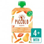 Piccolo Organic Carrot Squash and Sweet Potato with hint of Parsley 100g