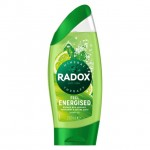 Radox Shower Gel Energised Lime and Peppermint 250ml