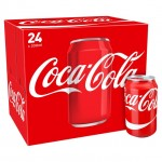 Retail Pack Coca Cola Regular 24x330ml Cans Carton