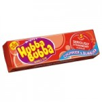 Retail Pack Hubba Bubba Seriously Strawberry 5 piece 20 pack