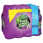 Retail Pack Robinsons Fruit Shoot No Added Sugar Apple and Blackcurrant 12 x 275ml