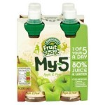 Robinsons Fruit Shoot My 5 Apple and Pear 4 x 200ml