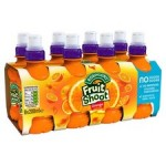 Robinsons Fruit Shoot No Added Sugar Orange 8 x 200ml