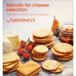 Sainsburys Biscuits for Cheese 500g