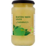 Sainsburys Bramley Apple Sauce 420g