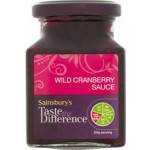 Sainsburys Cranberry Sauce Taste the Difference 220g