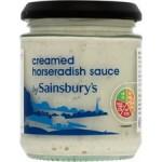 Sainsburys Creamed Horseradish Sauce 160ml