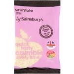 Sainsburys Crumble Mix 225g