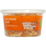 Sainsburys Cut Mixed Peel 200g