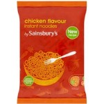 Sainsburys Instant Chicken Noodles 90g