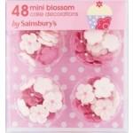 Sainsburys Mini Blossom Cake Decorations x48 3g