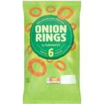 Sainsburys Onion Rings 6x19g