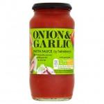Sainsburys Pasta Sauce with Onion and Garlic 500g