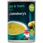 Sainsburys Pea and Ham Soup 400g