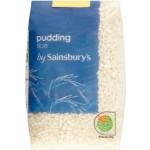 Sainsburys Pudding Rice 500g