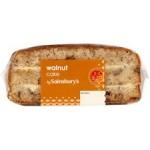 Sainsburys Walnut Cake 322g