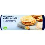 Sainsburys Water Biscuits High Bake 200g