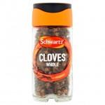Schwartz Whole Cloves 22g Jar