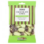 Tesco Chocolate Limes 200g
