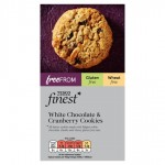 Tesco Finest Free From White Chocolate and Cranberry Cookies 150g