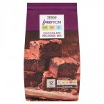 Tesco Free From Chocolate Brownie Mix 284g