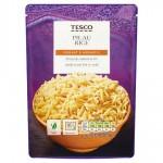Tesco Microwave Pilau Basmati Rice 250g
