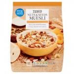 Tesco Nuts And Seeds Muesli 750G