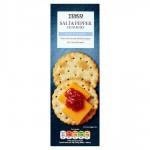 Tesco Salt And Pepper Crackers 185g