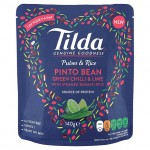 Tilda Pulses and Rice Pinto Bean Chilli and Lime 140g