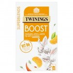 Twinings Superblends Boost Mandarin Apple and Green Tea 20 Teabags