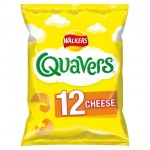Walkers Quavers Cheese 12 x 16g Pack